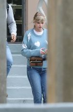 TAYLOR SWIFT Heading to a Studio in Beverly Hills 03/03/2019