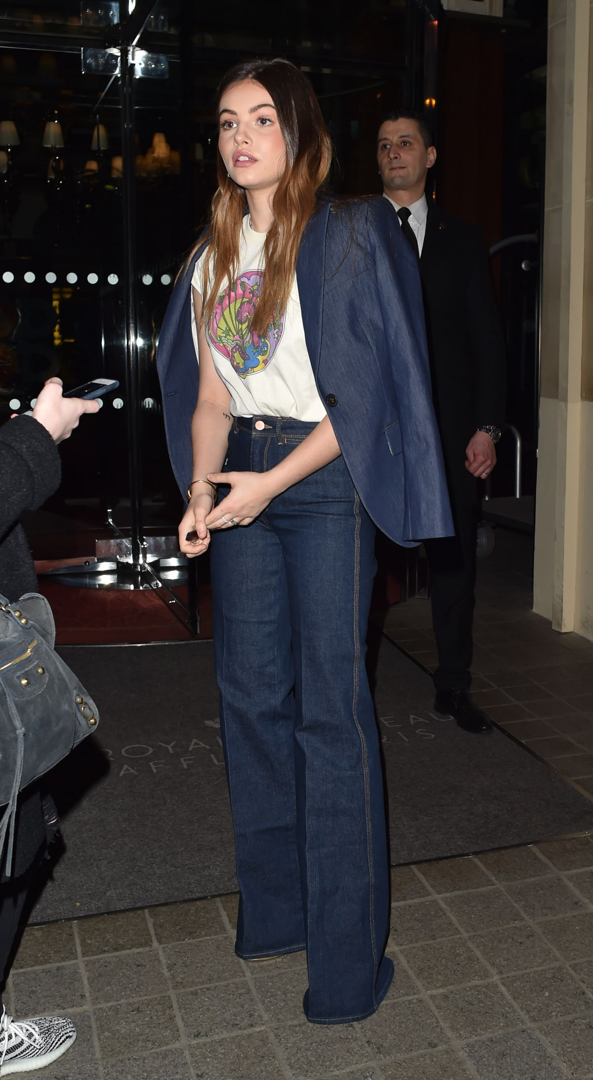 9f064762 THYLANE BLONDEAU Arrives at Tommy Hilfiger Tommynow Spring 2019: Starring  Tommy x Xendaya Premieres in Paris 03/02/2019