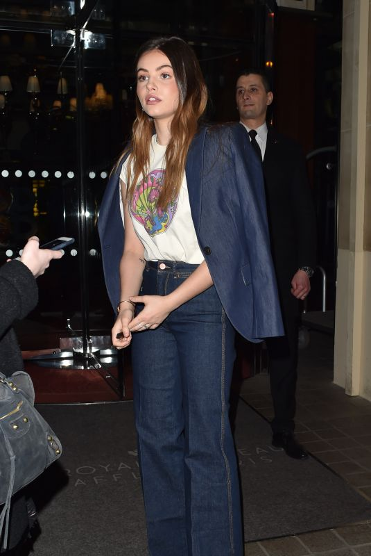 THYLANE BLONDEAU Arrives at Tommy Hilfiger Tommynow Spring 2019: Starring Tommy x Xendaya Premieres in Paris 03/02/2019
