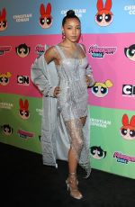 TINASHE at Christian Cowan x Powerpuff Girls Show in Los Angeles 08/03/2019