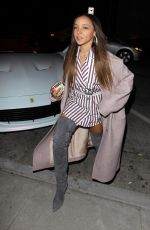 TINASHE Out and About in Los Angeles 03/14/2019