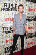 TONI GARRN at Triple Frontier Premiere in New York 03/03/2019