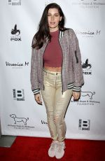 TRACE LYSETTE at Animal Hope & Wellness Foundation's Compassion Gala in Culver City 03/03/2019