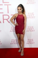 TRINA LAFARGUE at Five Feet Apart Premiere in Los Angeles 03/07/2019