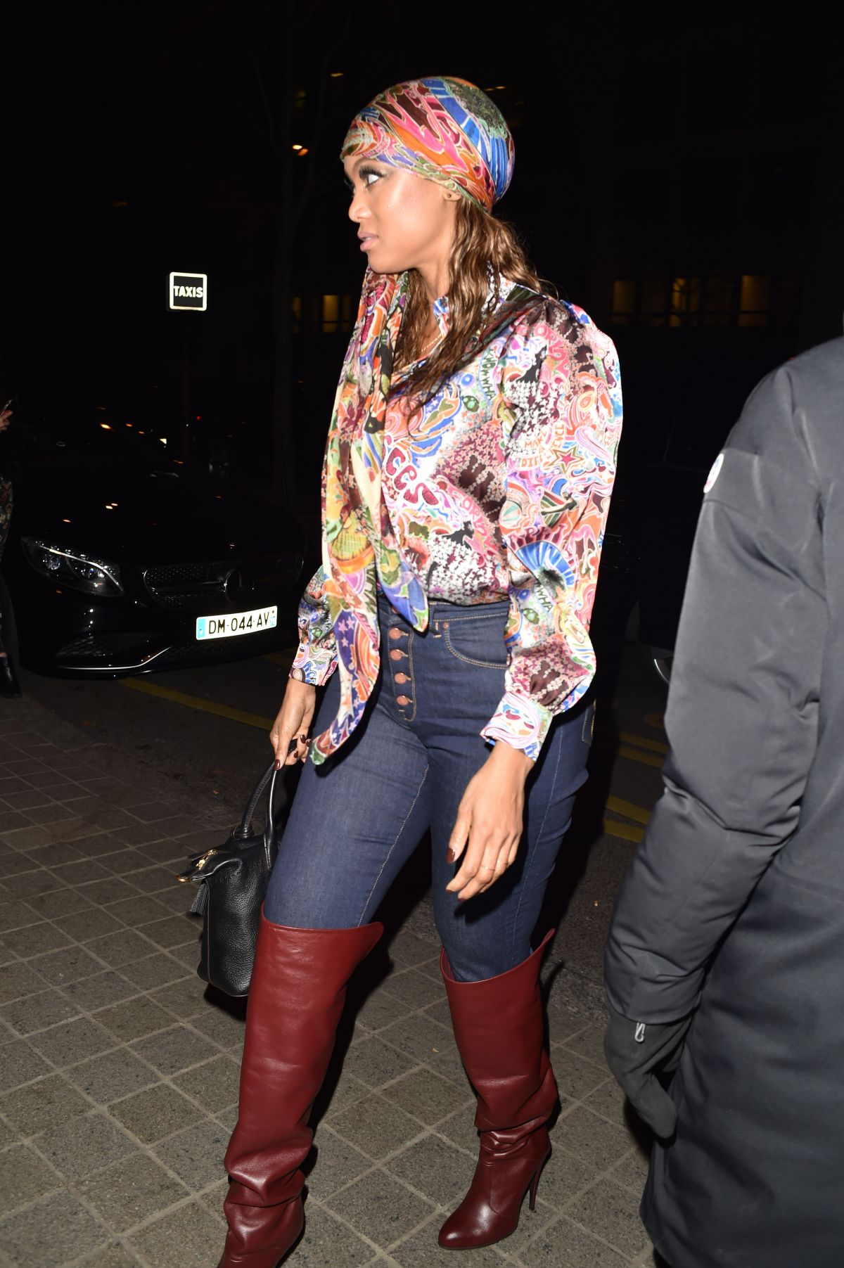 de969d79 TRYA BANKS Arrives at Tommy Hilfiger Tommynow Spring 2019: Starring Tommy x  Xendaya Premieres in