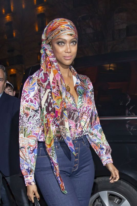 TRYA BANKS at Tommy Hilfiger Tommynow Spring 2019: Starring Tommy x Xendaya Premieres in Paris 03/02/2019