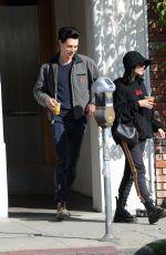 VANESSA HUDGENS Leaves Blue Bottle Coffee in Los Angeles 03/10/2019