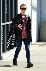 VANESSA PARADIS Shopping at Urban Outfitters in Studio City 03/14/2019