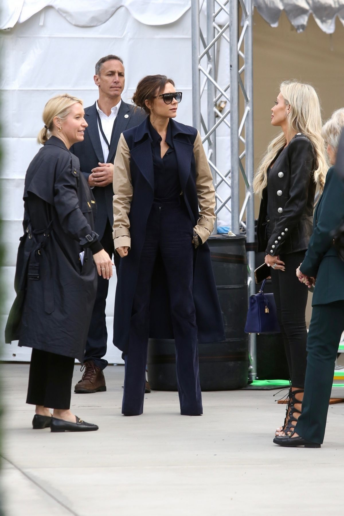 VICTORIA BECKHAM Arrives at Dignity Health Sports Park in ...