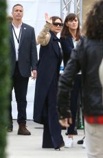 VICTORIA BECKHAM Arrives at Dignity Health Sports Park in Carson 03/02/2019