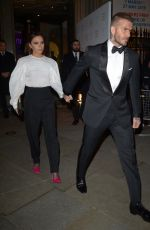 VICTORIA BECKHAM at National Portrait Gallery Gala in London 03/12/2019