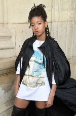 WILLOW SMITH at Louis Vuitton Show at Paris Fashion Week 03/05/2019