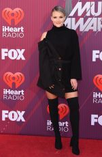 WITNEY CARSON at Iheartradio Music Awards 2019 in Los Angeles 03/14/2019