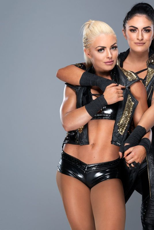 WWE - Mandy Rose and Sonya Deville