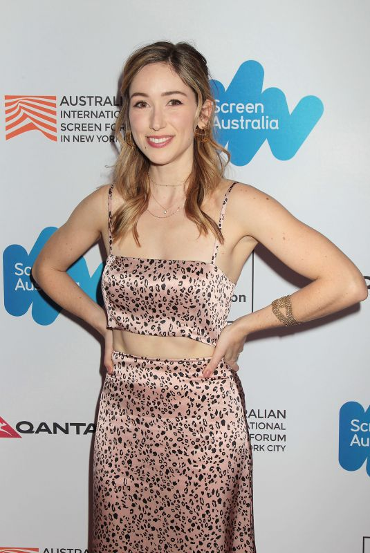 XANTHE PAIGE at Ladies in Black Premiere at Australian International Screen Forum in New York 03/20/2019