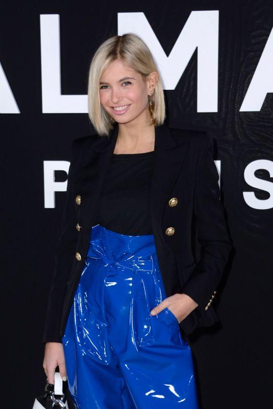 XENIA ADONTS at Balmain Show at Paris Fashion Week 03/01/2019