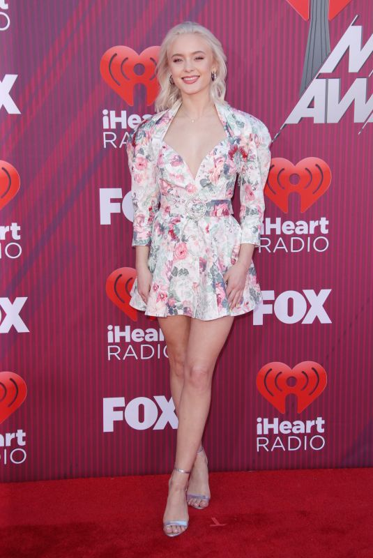 ZARA LARSSON at Iheartradio Music Awards 2019 in Los Angeles 03/14/2019