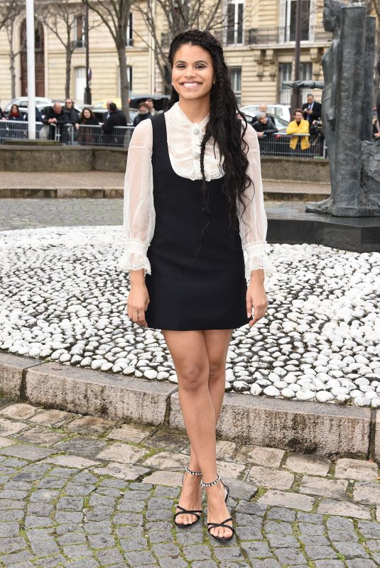 ZAZIE BEETZ at Miu Miu Fashion Show in Paris 03/05/2019