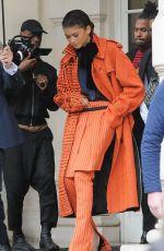 ZENDAYA COLEMAN Leaves Her Hotel in Paris 03/01/2019