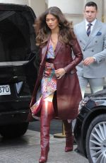 ZENDAYA Leaves Her Hotel in Paris 03/02/2019