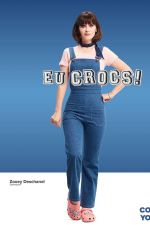 ZOOEY DESCHANEL for Crocs Come As You Are 2019 Campaign