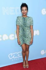 AASHA DAVIS at The Beach Bum Premiere in Hollywood 03/28/2019