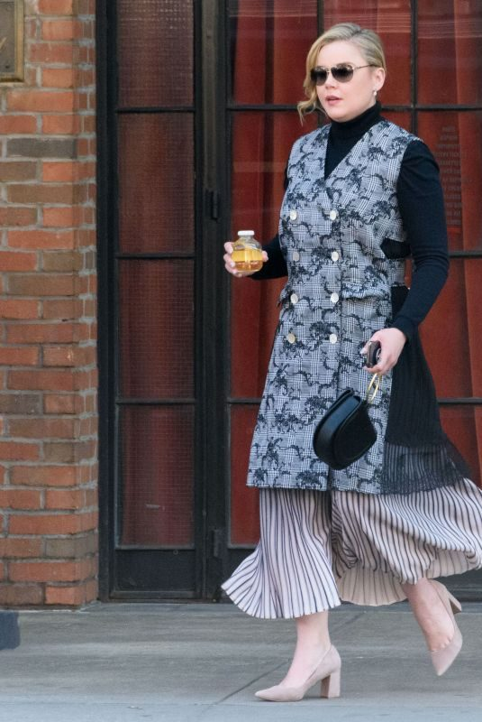 ABBIE CORNISH Out in New York 04/03/2019