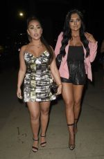 ABBIE HOLBORN,CALLY JANE BEECH and SOPHIE KASAEI at Menagerie Bar in Manchester 04/13/2019