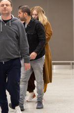 ADELE at JFK Airport in New York 04/02/2019