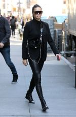 ADRIANA LIMA Leaves an Office in New York 04/03/2019