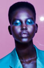 ADUT AKECH in Allure Magazine, May 2019