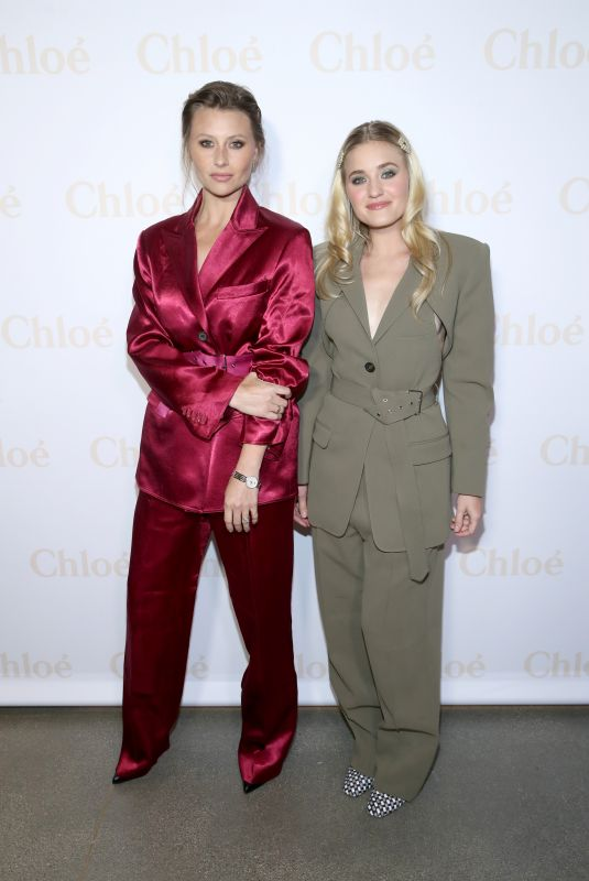 AJ and ALY MICHALKA at Flaunt and Chloe Celebrate a Change of Seasons in West Hollywood 04/17/2019
