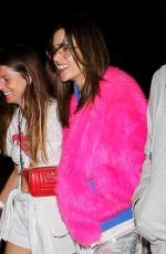 ALESSANDRA AMBROSIO Arrives at a Party at Coachella 04/13/2019