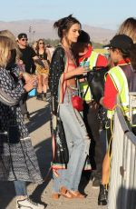 ALESSANDRA AMBROSIO Out at 2019 Coachella Valley Music and Arts Festival in Indio 04/12/2019