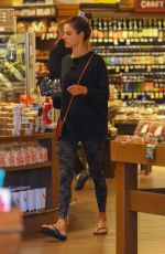 ALESSANDRA AMBROSIO Shopping at Grocery Store in Santa Monica 04/10/2019