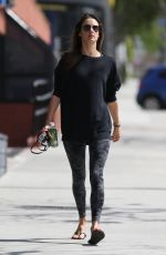 ALESSANDRA Heading to a Gym in Los Angeles 04/07/2019