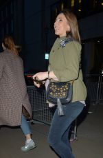 ALEX JONES Arrives at The One Show in London 04/01/2019