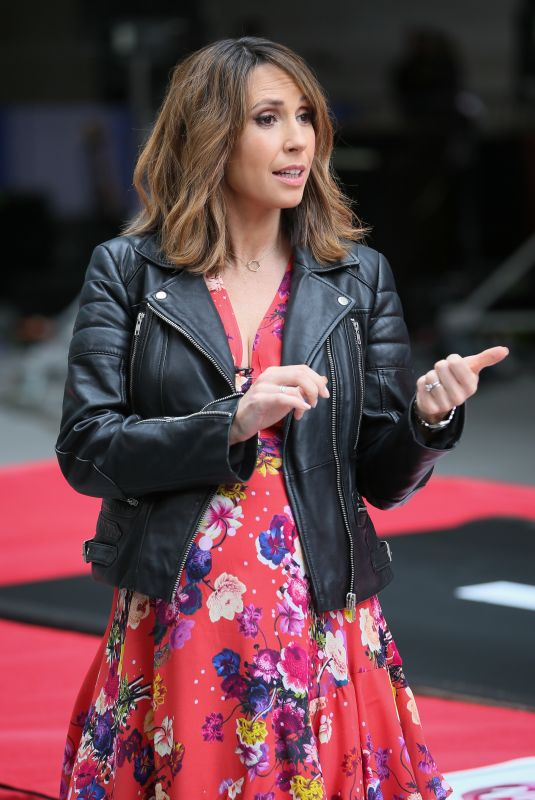ALEX JONES at The One Show in London 04/26/2019