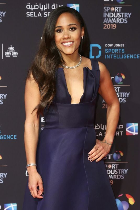 ALEX SCOTT at BT Sport Industry Awards 2019 in London 04/25/2019