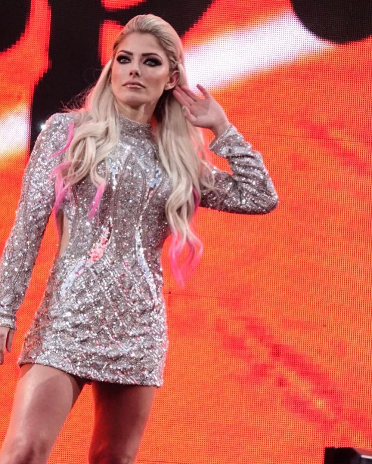 WWE Canceled Special Wrestlemania 36 Entrance For Alexa Bliss 3