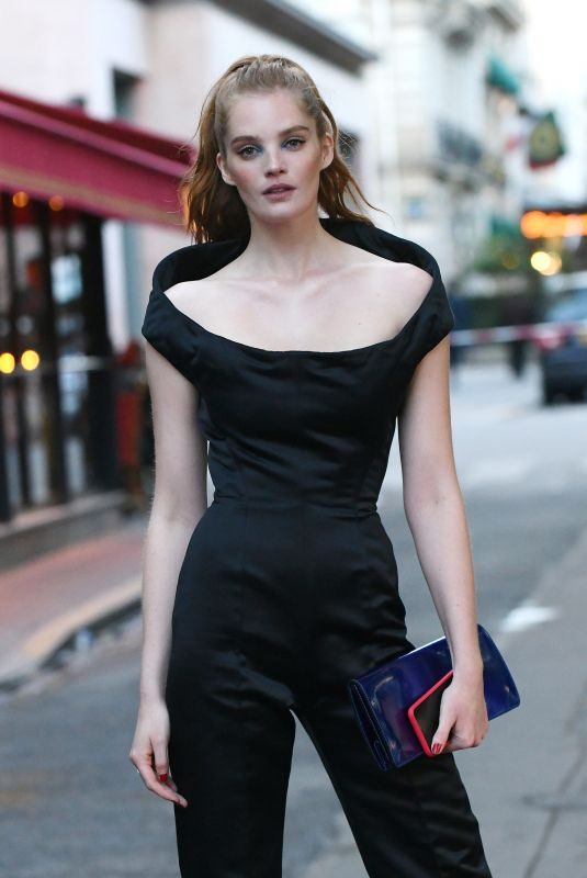 ALEXINA GRAHAM Arrives at Scandal by Jean-paul Gaultier Party in Paris 04/24/2019