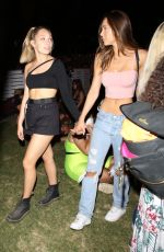 ALEXIS REN and MADDIE ZIEGLER Nioght Out at Coachella Festival 2019 in Indio 04/14/2019