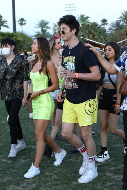 ALEXIS REN and Milo Manheim at Coachella 04/14/2019