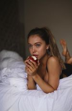 ALEXIS REN at a Photoshoot in Mexico, January 2019