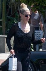 ALI LARTER Out Shopping in Los Angeles 04/25/2019