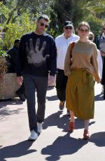 ALICE EVE Out in About in Cannes 04/07/2019