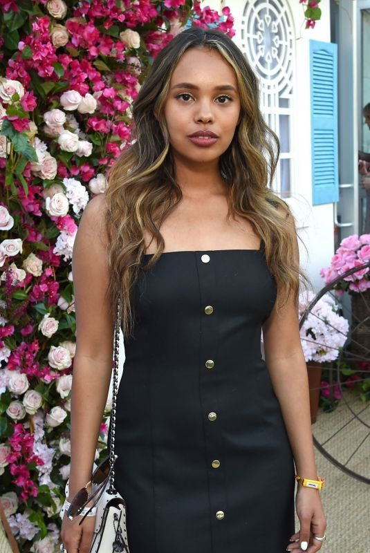 ALISHA BOE at Zoeasis at Coachella 2019 in Palm Springs 04/12/2019