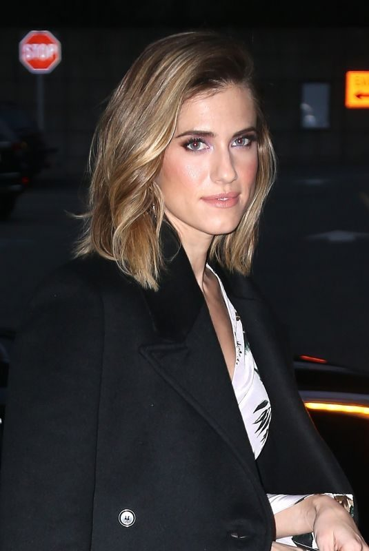 ALLISON WILLIAMS Arrives at 10th Annual DVF Awards in New York 04/11/2019