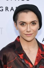 ALYSON STONER at Annenberg Space for Photography Opening Exhibition in Los Angeles 04/26/2019