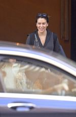 ALYSSA MILANO Leaves Her Hotel in New York 04/10/2019